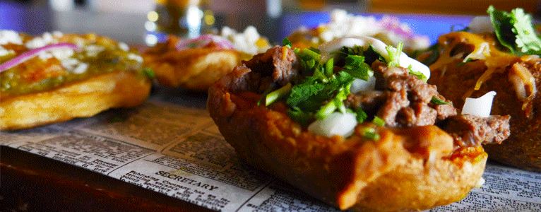 Potato Skins, Sopes